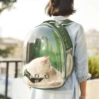 high quality transport carrying cat bag breathable bubble astronaut travel big space capsule dog pet carrier backpack