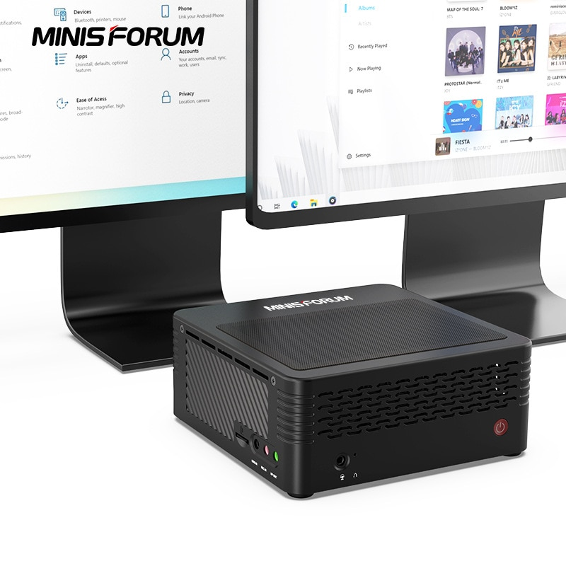 Minis Forum Mini PC X 400 AMD Ryzen 3 4350 g Home Office Game Mini PC