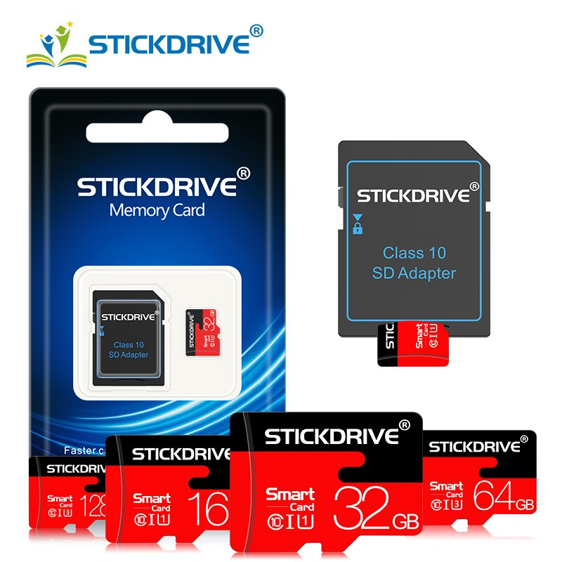 Tarjeta de memoria micro sd de alta velocidad de 4GB, 8GB, 16 GB, 32 GB y 64GB, tarjeta micro sd de 128GB, Clase 10