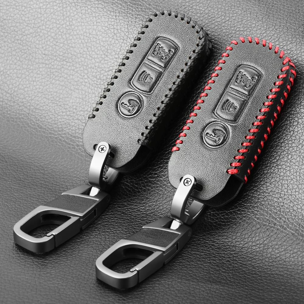 Cuero protector caso para Honda X ADV-SH 300 de 150 de 125 Forza 300 125 PCX150 2018 motocicleta Scooter 3 botón llave inteligente