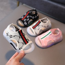 New Summer Kids Shoes Brand Breathable Toddler Boys Sandals Orthopedic Baby Girls Sandals Shoes Fash