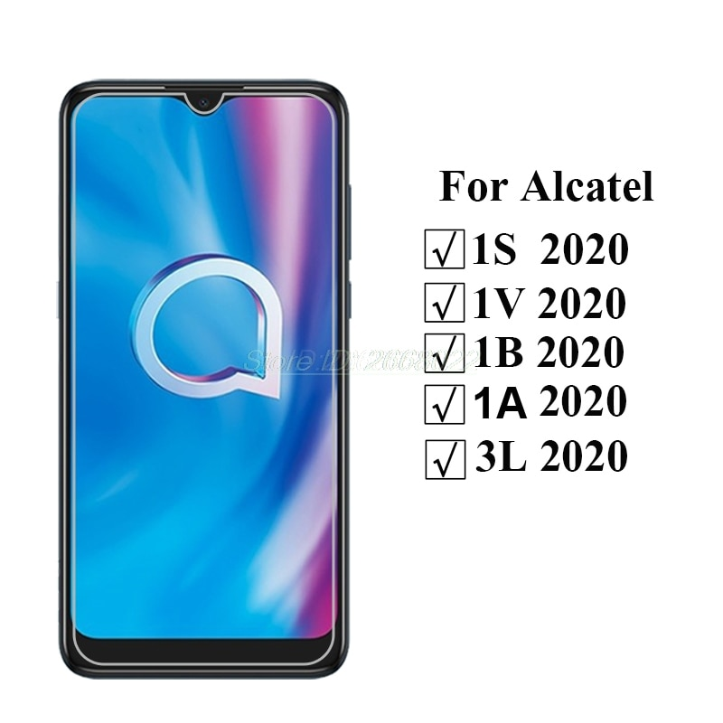 9D Tempered Glass For Alcatel 1A 1V 1B 1S 3L 2020 Screen Protector  Mobile Phone Film For Alcatel 1S 2020 6.22