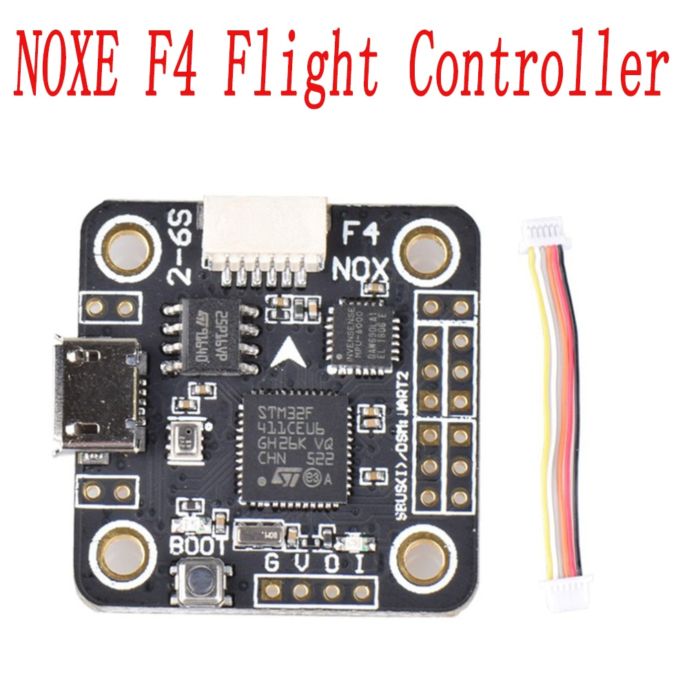 Sensor de Controlador de Vôo de Conselho MPU6000 NOXE F4 OSD 5 V/3A BEC com/sem Barômetro para 90mm 120mm150mm mini-quadcopter Zangão