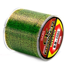 500m Fluorocarbon Invisible Spoted Line Fly Fishing Line Bionic Monofilament Fish Line Speckle carp Nylon Thread Fishing Line