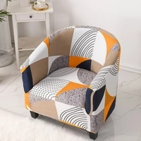 elastic stretch bathtub armchair cover sofa protector washable furniture slipcover high quality hotel home polyester seat cover