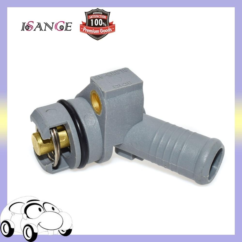 ISANCE Kühlmittel Thermostat Wasser Outlet Abdeckung XS7Q-6L635-AE Für Ford Mondeo MK III Di/TDDi/TDCi 2,0 L 2,2 L Diesel 2000-2007