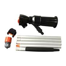 Portable piscine étang aspirateur jacuzzi outil de nettoyage brosse aspirateur tuyau kit