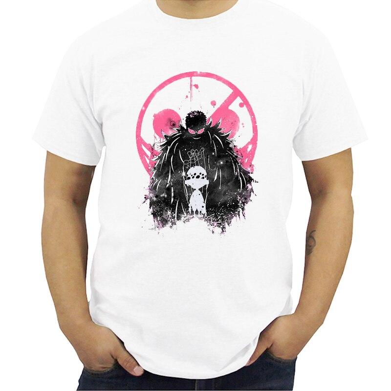 El Anime japonés una pieza Luffy as Sabo derecho Zoro y camiseta de Nami o-Cuello manga corta Camiseta hombres Streetwear Hip Hop Harajuku