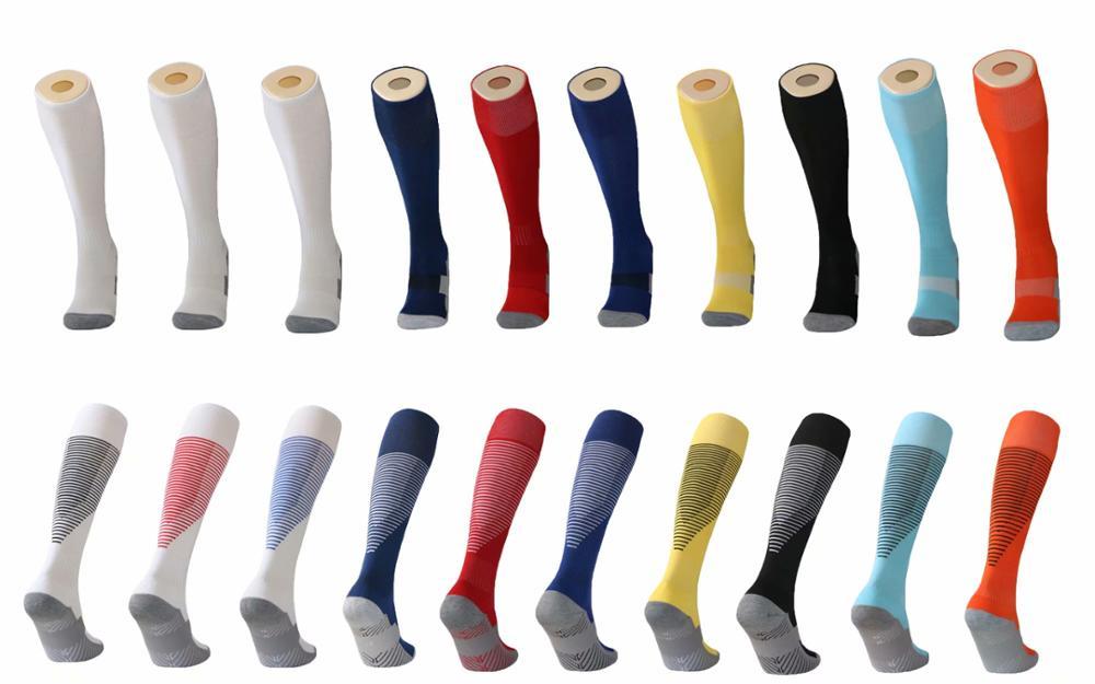 Calcetines de ciclismo profesionales para hombre y mujer, 1 par transpirable, negro, blanco, exteriores, para correr, Fútbol