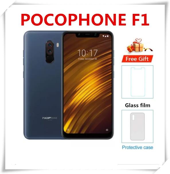 Оригинальный Xiaomi Redmi POCO F1 6 ГБ ОЗУ 128 ГБ ROM Snapdragon 845 Octa, четыре ядра, см
