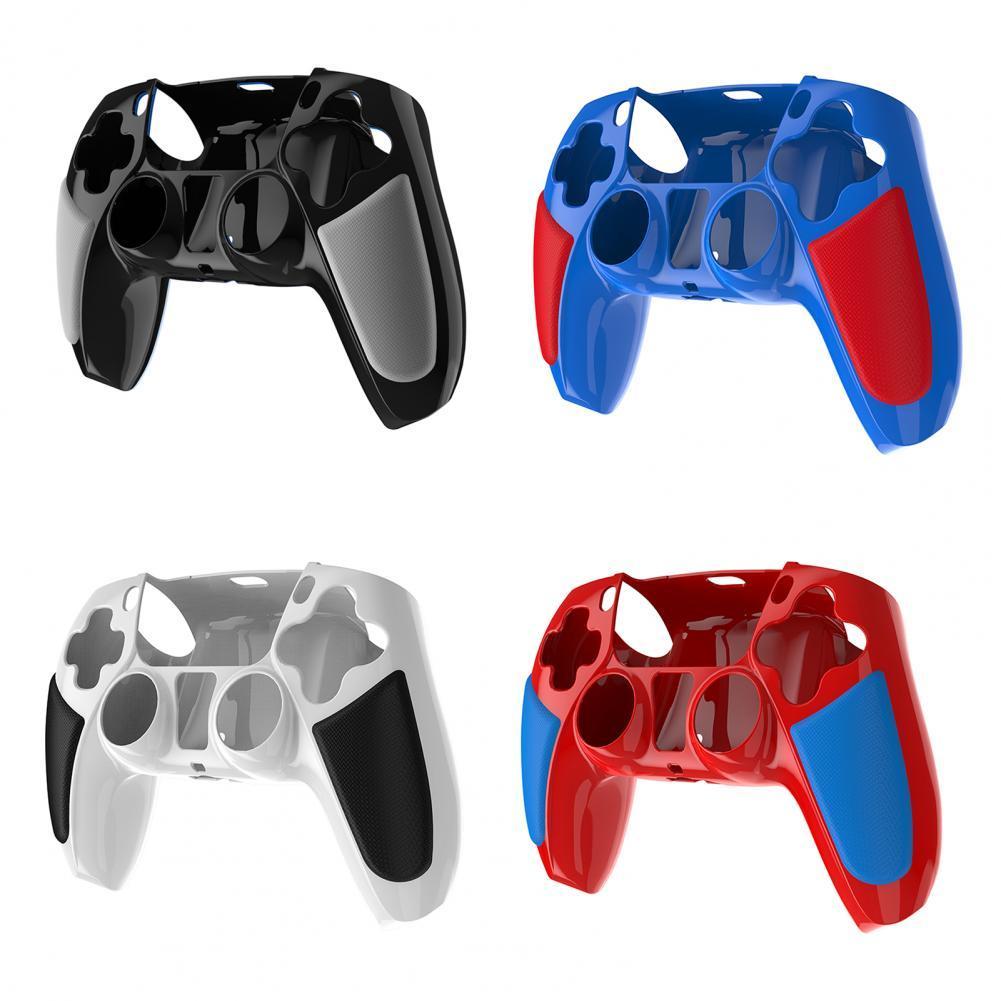 Цвета для Sony PlayStationDualshock 5 PS5 контроллер силиконовый чехол Защитная пленка с накатанной головкой ручки-крышка