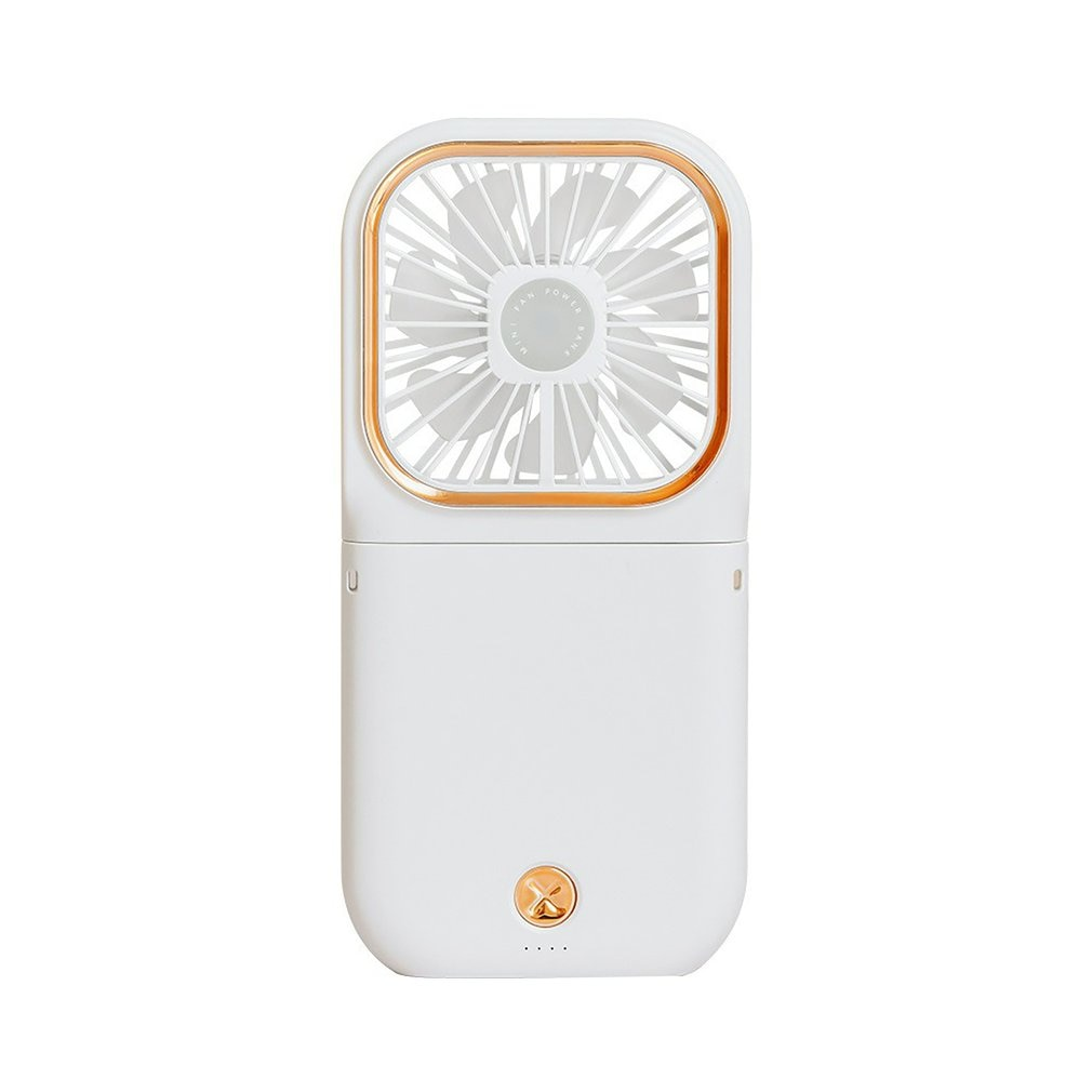 Hanging Neck Fan Leafless Adjustable Speed Mini USB Rechargeable Wearable Portable Quiet Fan Folding Fans For Indoor Outdoor