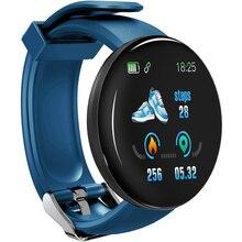 Smart Watch D18 Men Women Blood Pressure Heart Rate Monitor Sport Tracker Pedometer 116 Plus Smart W