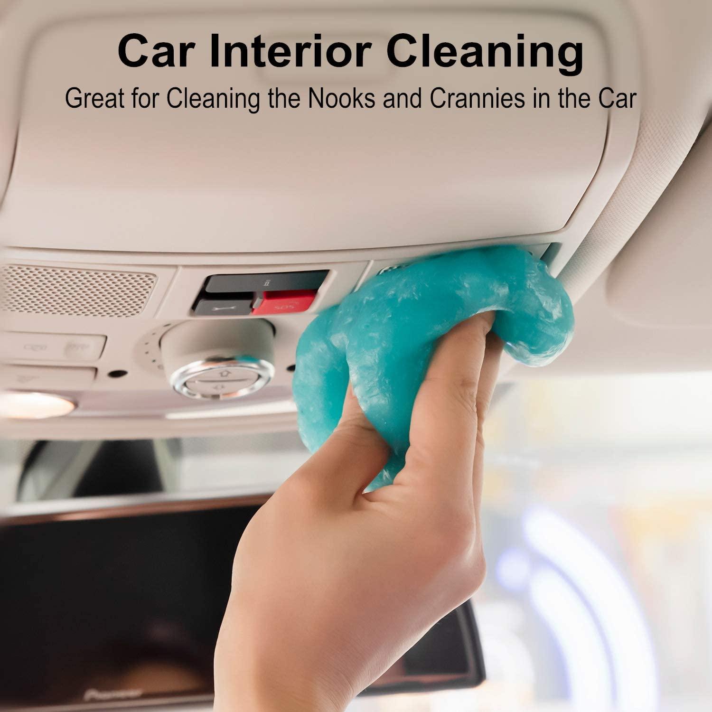 Автомобильный гелевый комплект для чистки автомобиля, автомобильные щелевые щелечки для удаления деталей интерьера вентиляционного отвер...
