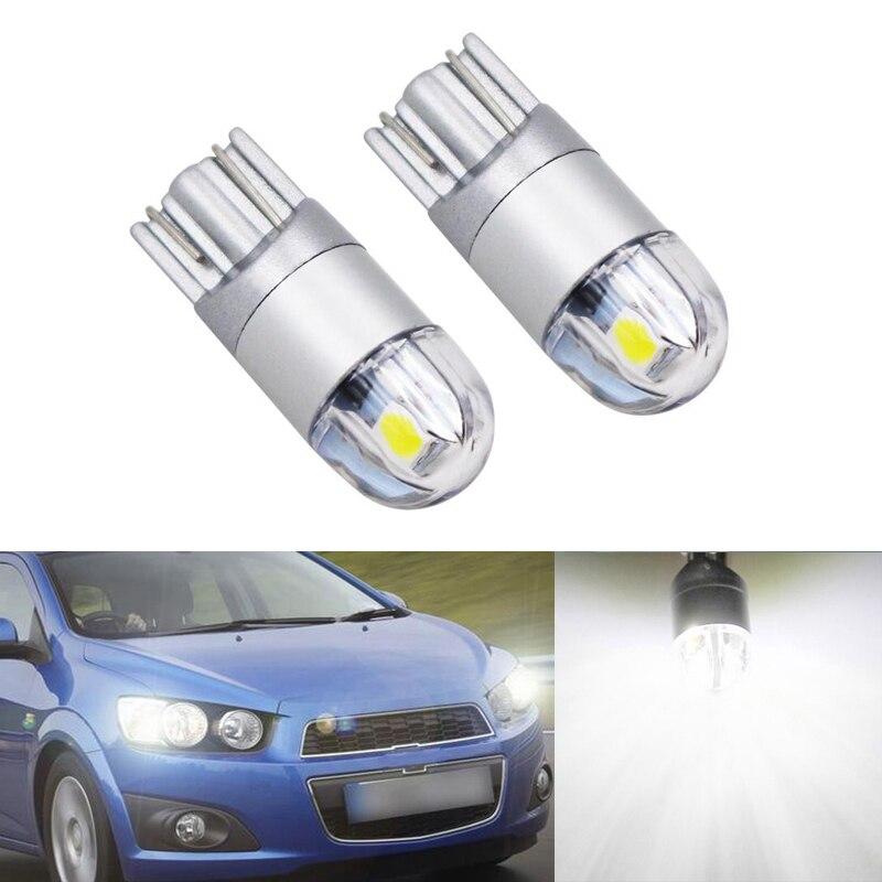 2x W164 T10 W5W 2 LED 3030SMD Parkplatz Lichter Seitenlicht Kein Fehler Für Chevrolet Cruze Aveo Captiva Lacetti Segel Sonic camaro