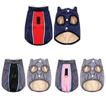 Autumn Winter Small Dog Jacket Cat Coat Waterproof Warm Dog Vest Clothes Pet Sweatshirt Small Dog Sw