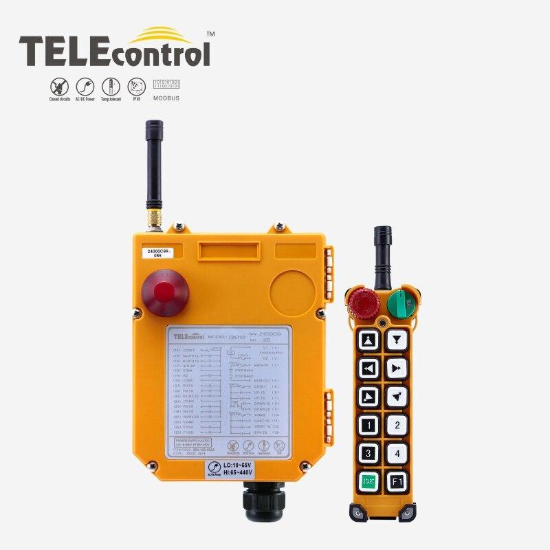 F24-12D رافعة الصناعية اللاسلكية التحكم عن بعد UTING TELECRANE TELEcontrol تحكم ل رافعة 12 مزدوجة مفاتيح 380V 18-65-440V