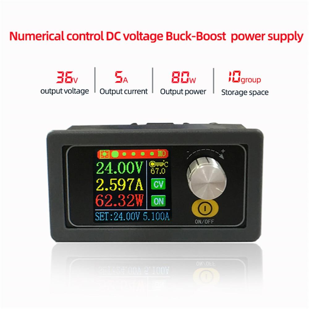 XYS3580 XYS3580-W DC DC باك دفعة تحويل CC CV 0.6-36V 5A الطاقة وحدة قابل للتعديل تنظيم مختبر إمدادات الطاقة متغير