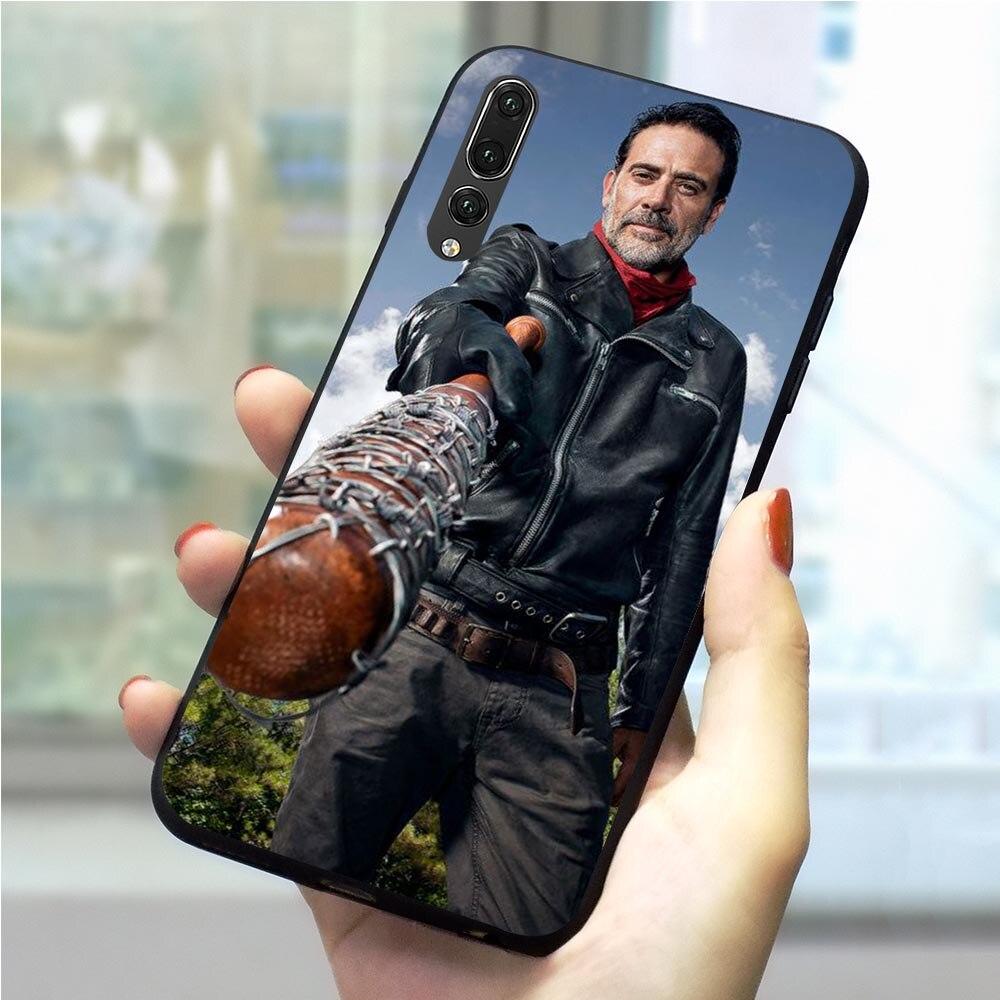 Negan muerto caminando de la cubierta del teléfono para Huawei Honor 6A caso Y6 Y7 Y9 Nova 3 3i 4 5i 7A Pro 8 9 10 Lite 20 Pro 9X