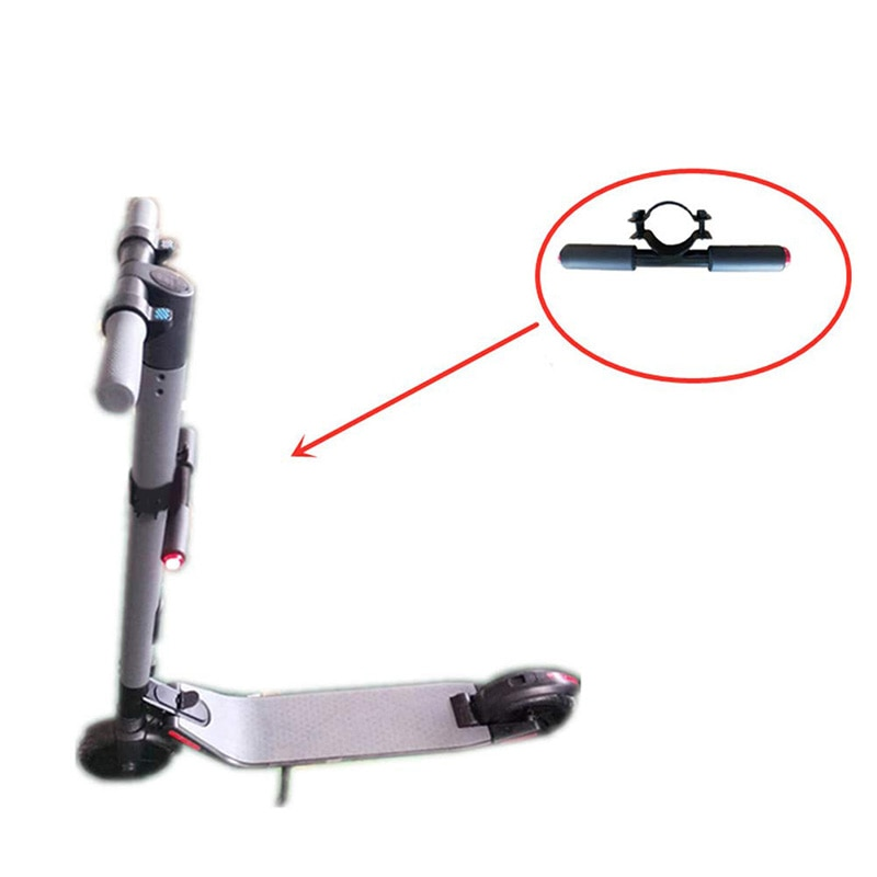 Reposabrazos de manillar para niños con luz de Flash LED para Scooter Ninebot ES1 ES2 ES3 ES4 accesorio de Scooter eléctrico de seguridad nocturna
