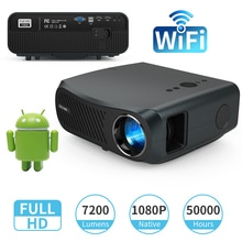 Home Projector Video Led Android Beamer 7200 Lumens Miracast Wireless Airplay Freeshipping Home Thea