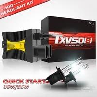 txvso8 universal xenon h7 55w 12v car headlight bulbs hid kit h1 h3 h4 h8 h9 h11 h13 h27 9004 9005 hb3 9006 9012 5202 lamps 2020