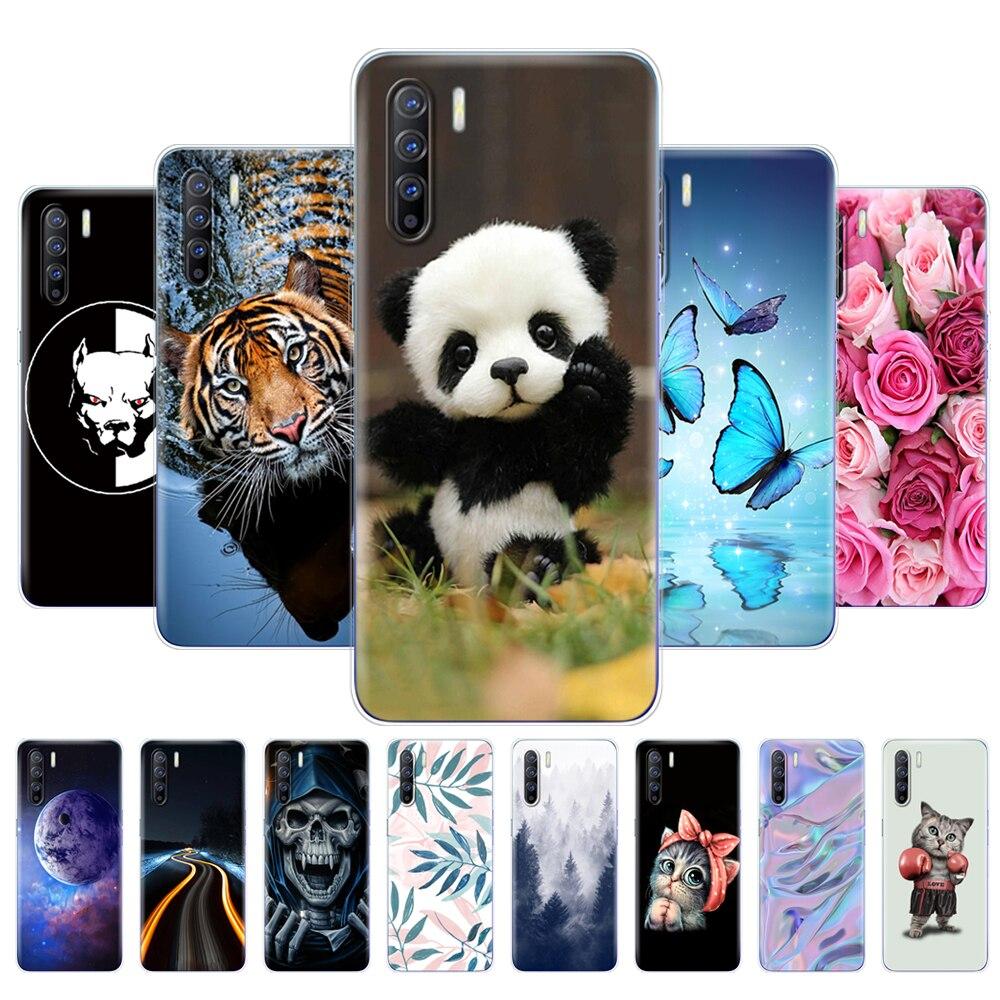 OPPO-funda de silicona suave para teléfono móvil OPPO Reno 3 de 6,4...