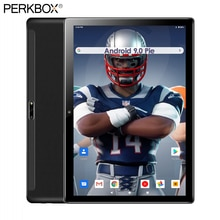 2020 neue Android 9 tablet 10 ROM 32GB eMMC 1280x800 HD IPS Bildschirm WiFi GPS Media Pad 3G Phablet Youtube 64GB TF Karte Geschenke
