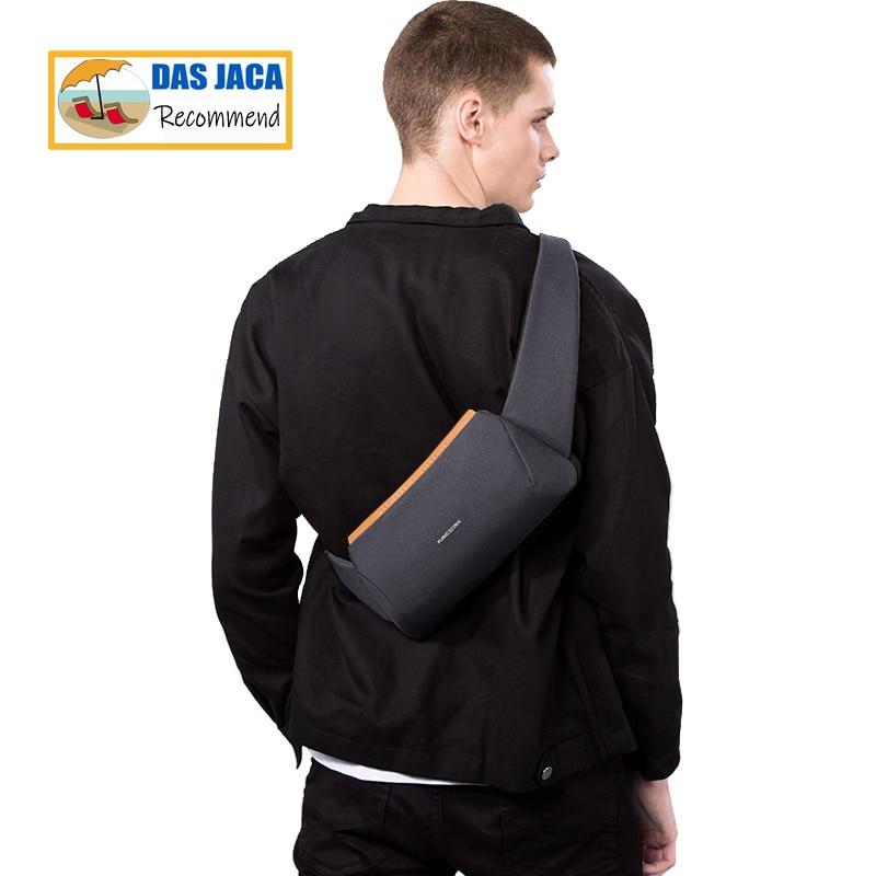 حقيبة كتف صغيرة عالية الجودة للرجال ، حقيبة ماسنجر للرجال ، مقاومة للماء ، حقيبة صدر للأولاد ، للمشي