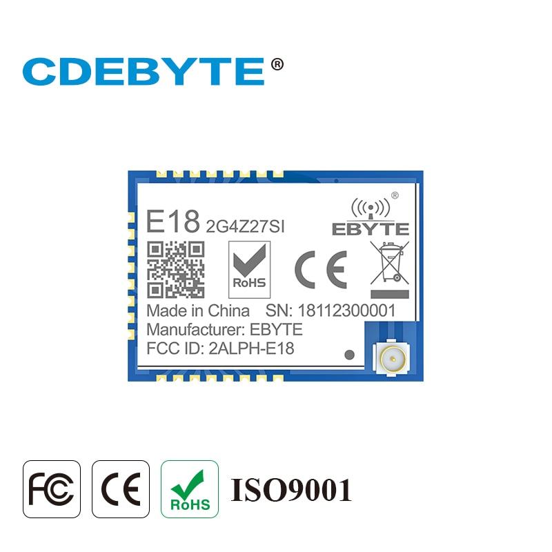 2.4 GHz Zigbee CC2530 PA CC2592 27dBm 500mW IoT uhf sans fil émetteur-récepteur RF Module E18-2G4Z27SI