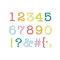 typewriter numbers and characters new metal cutting dies scrapbook diary decoration stencil embossing template diy card 2021