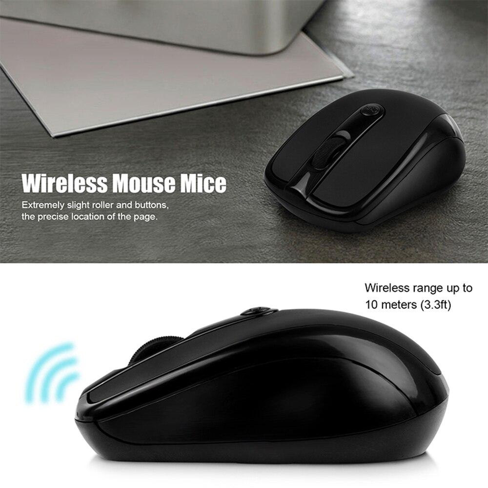 Беспроводная оптическая мышь 2 4G 3100 USB 10 метров беспроводная для передачи данных