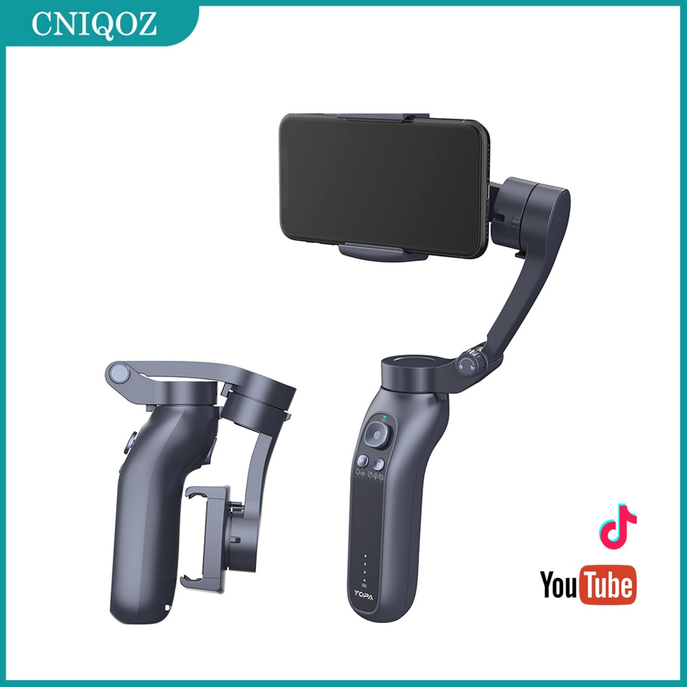 CNL7B Gimbal 3 Axis Handheld Smartphone Stabilizer Bluetooth Selfie Stick For Action Gopro Camera Vi
