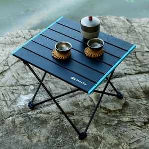 Outdoor Aluminum Alloy Portable Folding Table Stall Camping Leisure Table Multi-Purpose Picnic Barbecue Table