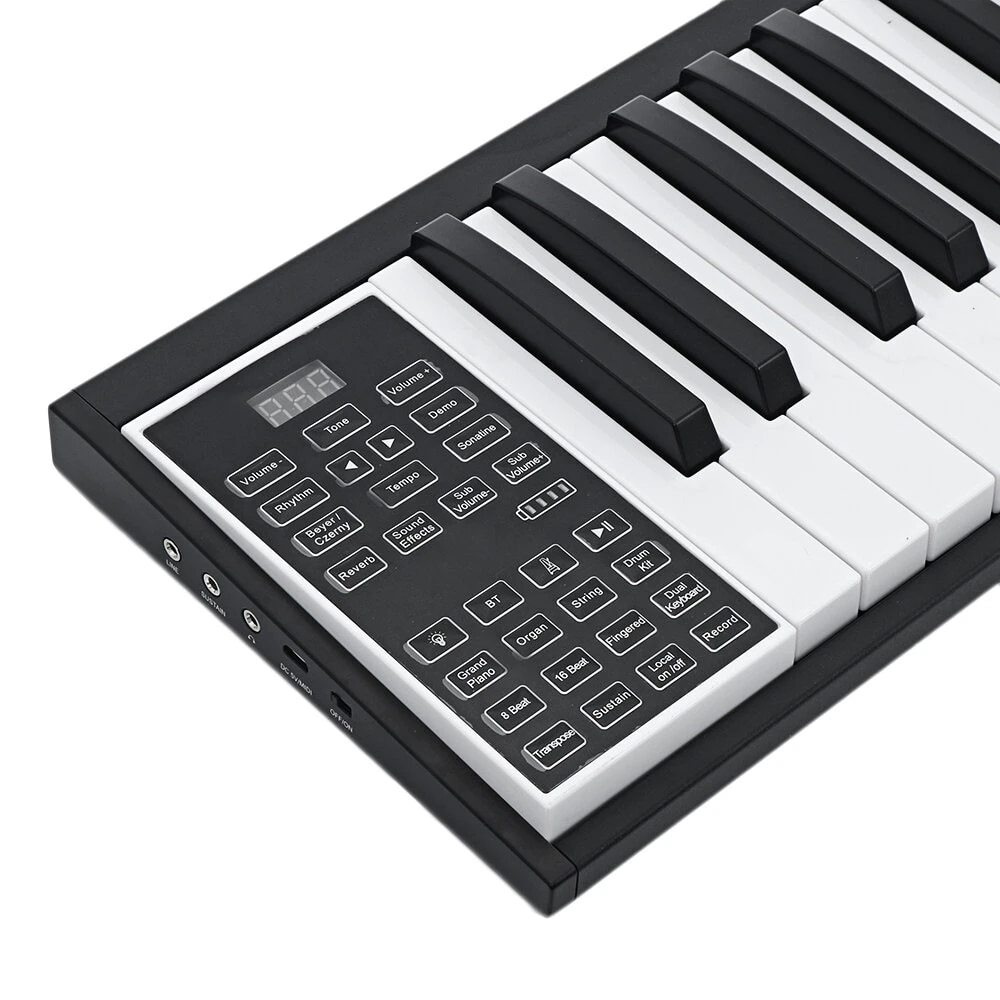 88 Keys Mobile Portable Electric Piano Electric Keyboard enlarge