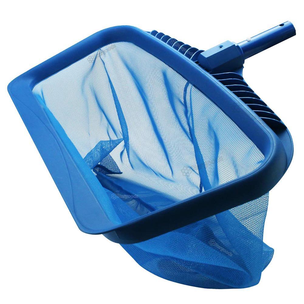 Rastrillo de hojas profesional, bolsa profunda, redes de limpieza de piscina, Red...