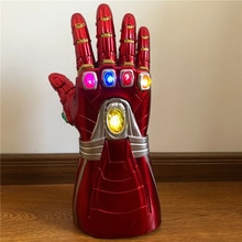Endgame 4 gantelet Cosplay bras Latex gants Thanos super-héros bras masque arme accessoires de fête