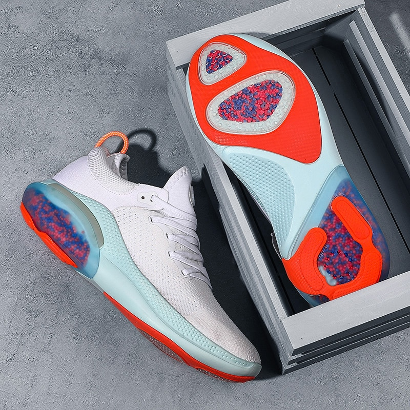 ماركة احذية الجري الرجال الصيف وسادة هوائية تنفس شبكة أحذية رياضية تنس أحذية رياضية لينة أسفل أحذية أنيقة رجل تشغيل الأحذية