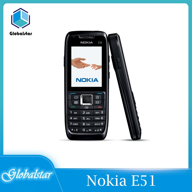 Nokia E51 Refurbished Original Unlocked Nokia E51 Mobile Phones with Bluetooth JAVA WIFI Unlock Cell