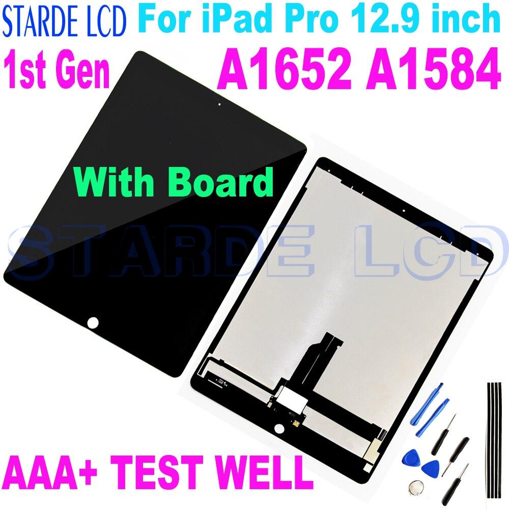 1st Gen لباد برو 12.9 بوصة شاشة LCD تعمل باللمس محول الأرقام الجمعية لباد برو 12.9