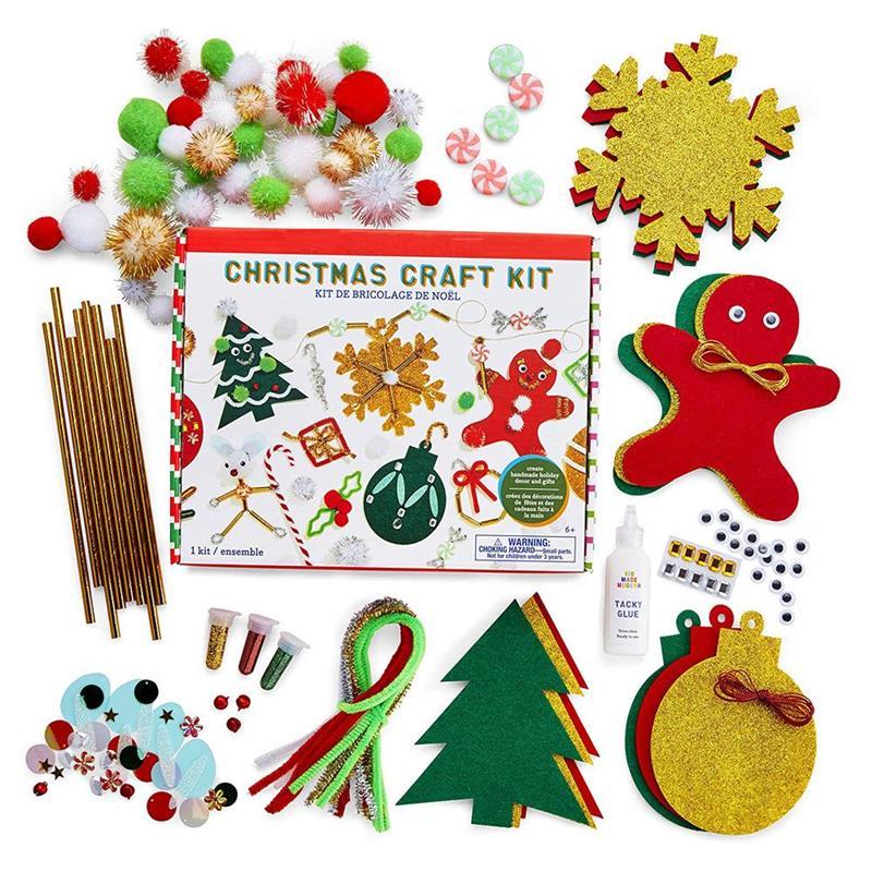 Christmas Felt Educational Toy Material Kit Creative DIY Handmade Toy Set For Children Christmas Birthday Gifts #20