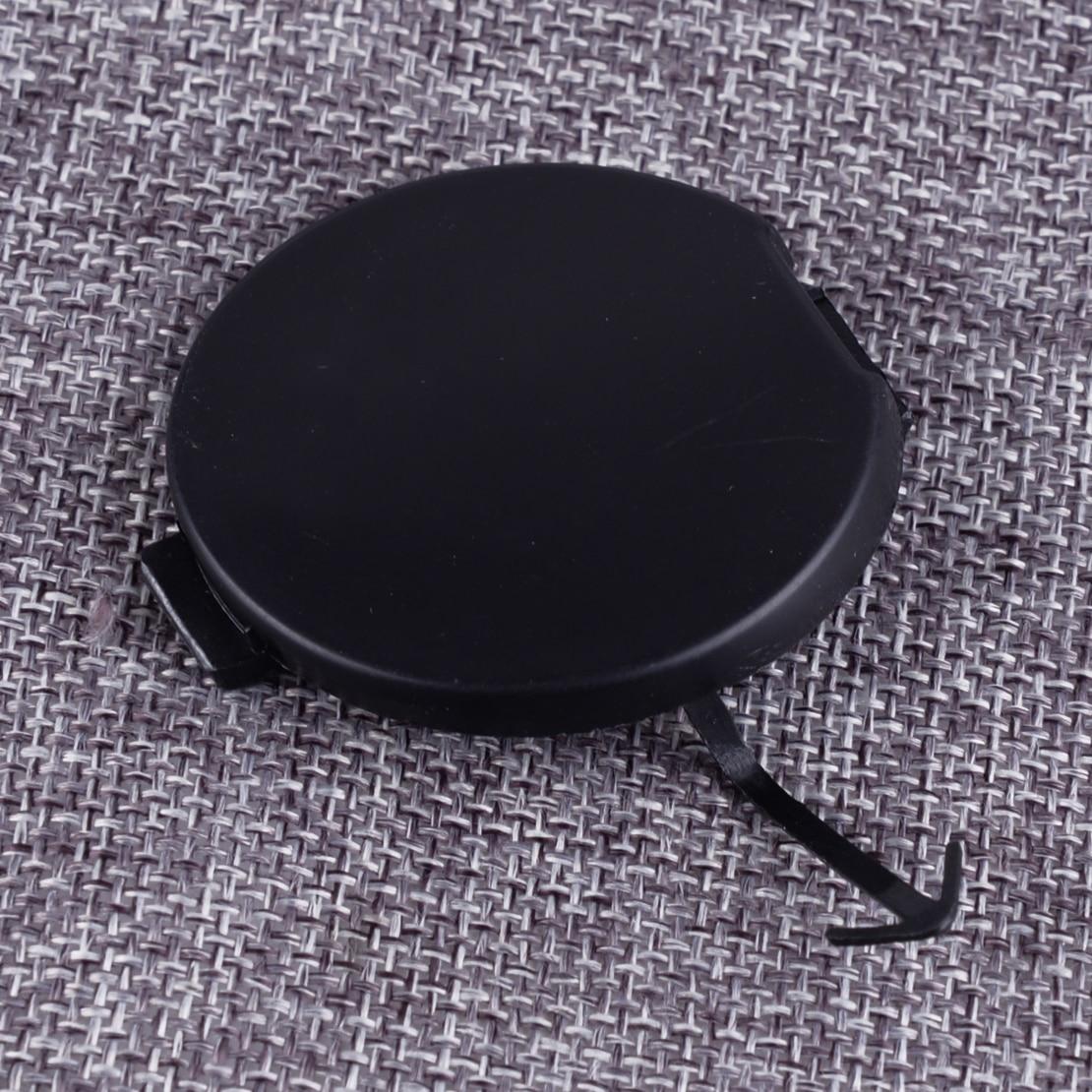 DWCX Car Black Front Bumper Tow Hook Eye Cover Cap Fit for MITSUBISHI Lancer 2008 2009 2010 2011 2012 2013 2014 2015 2016