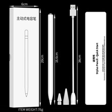 New design magnetic tilt apple Pen replaceable Fine Tip for ipad pencil with palm rejection active s