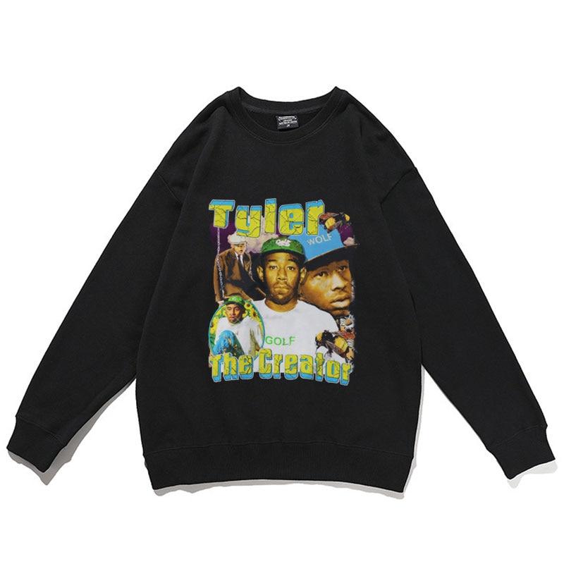 w billings the new england psalm singer 2021 New Tyler The Creator Rap Singer Sweatshirt Men Women Harajuku Sweatshirts Mens Casual Pullover Hip Hop Style Streetwear