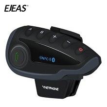 V8 cinq personnes Bluetooth Communication extérieure étanche NFC fonction casque de moto Duplex interphone Bluetooth