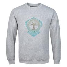 2020 New Nordiske Mytologi Yggdrasil Vintage Printed Sweatshirts Man solid color new clothes Hip Hop spring autumn Long Sleeve