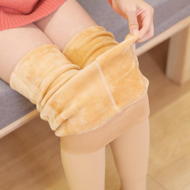 Tights for Girls Leggings Winter Warm Fleece Thicken Dance Pantyhose Children Pants Socks Baby Children's Clothing 3 6 8 9 Year