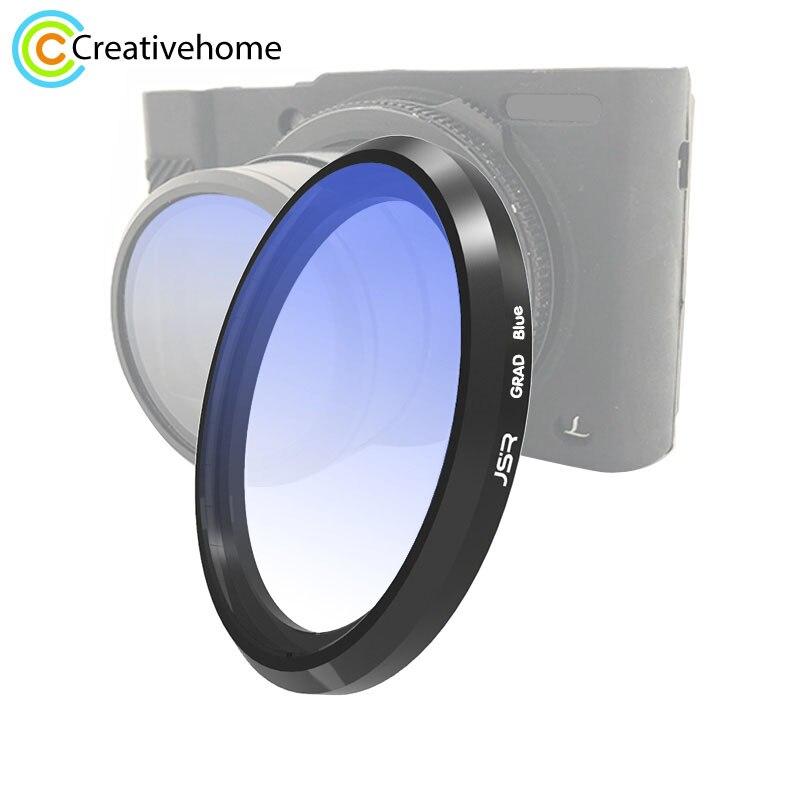 JSR gradiente de colores Filtro de Color para objetivos para Panasonic LUMIX LX10