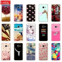 SIKEOU para Samsung Galaxy J1 Mini 2016 J105 J105H/DS J 1 mini SM-J105 J1mini SM-J105B/DS de silicona suave