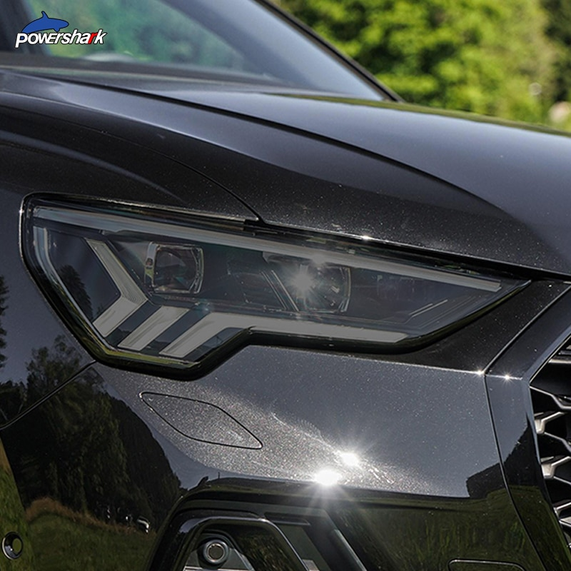 Автомобильные фары оттенок Черная защитная пленка прозрачный ТПУ стикер для Audi Q3 8U F3 2012-настоящее RSQ3 2020 Sportback аксессуары